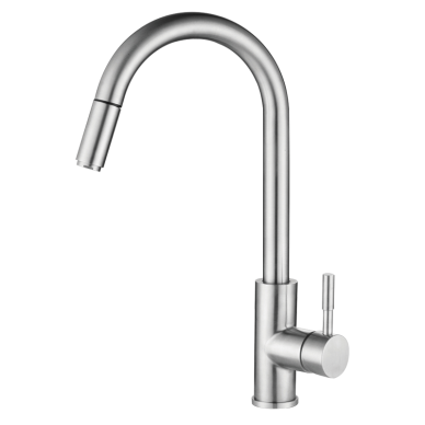 Pillar-Mounted Pull Out Sink Tap (Mixer)