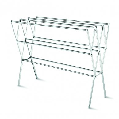 Stainless Steel Free Standing Clothes Hanger