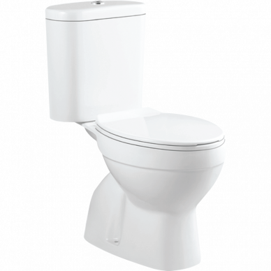Close-Coupled Water Closet