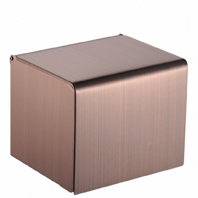 Stainless Steel Paper Holder (Red Bronze)