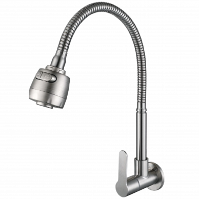 Pillar Mounted Flexible Spout Stainless Steel 304