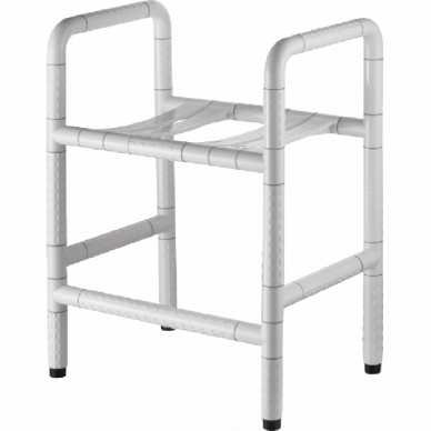 Shower Stool With Side Support