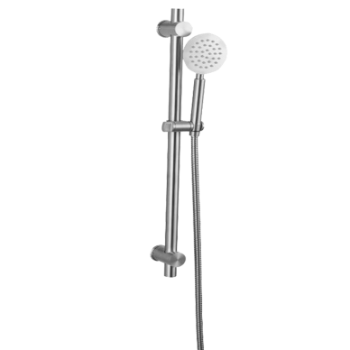 Sliding Bar C/W ABS Hand Shower And Stainlees Steel Flexi-hose